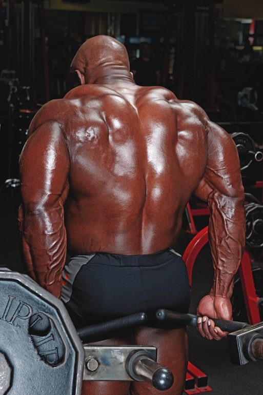 Behind-the-Back Machine Shrug