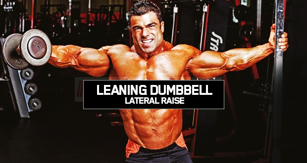 Leaning Dummbell Lateral Raise