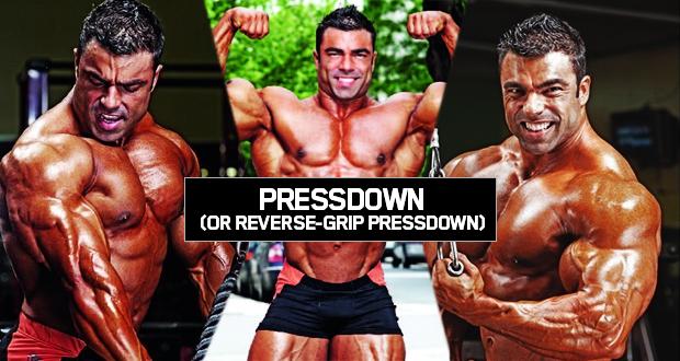 Rope Pressdown (Or Reverse-Grıp Pressdown)