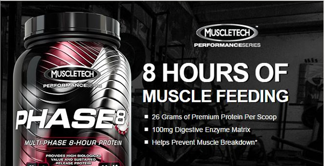 Muscletech Phase 8 – 2100 gr – Protein Tozu
