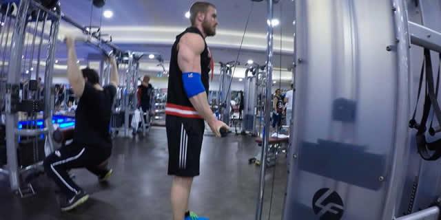 Tricepsin İhmal Edilen Başına Müdahale: Reverse Grip Pushdown